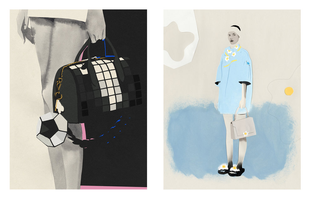 Anya Hindmarch, Cecilia Carlstedt