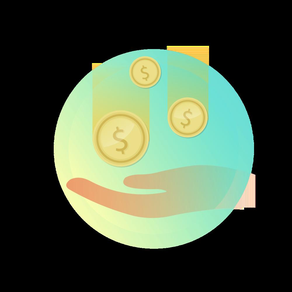 TU DINERO    El dinero recaudado va directo a tu cuenta bancaria.
