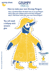 DOWNLOADABLE ACTIVITY: MAKE YOUR OWN PENGUIN! (WARNING: HE'S GRUMPY!)