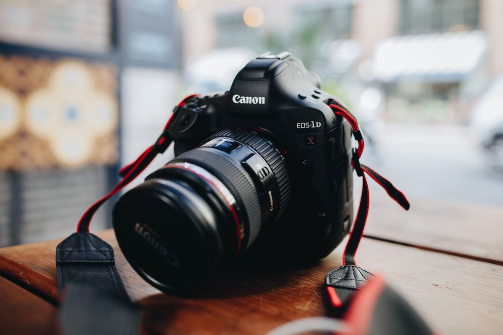 Freelance video production with DSLR camera in Cardiff, South Wales