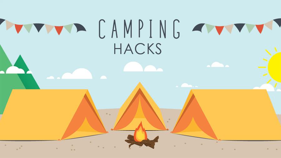 Brilliant camping hacks