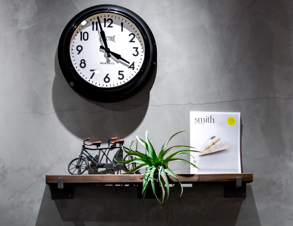 Clock signifying time management and productivity