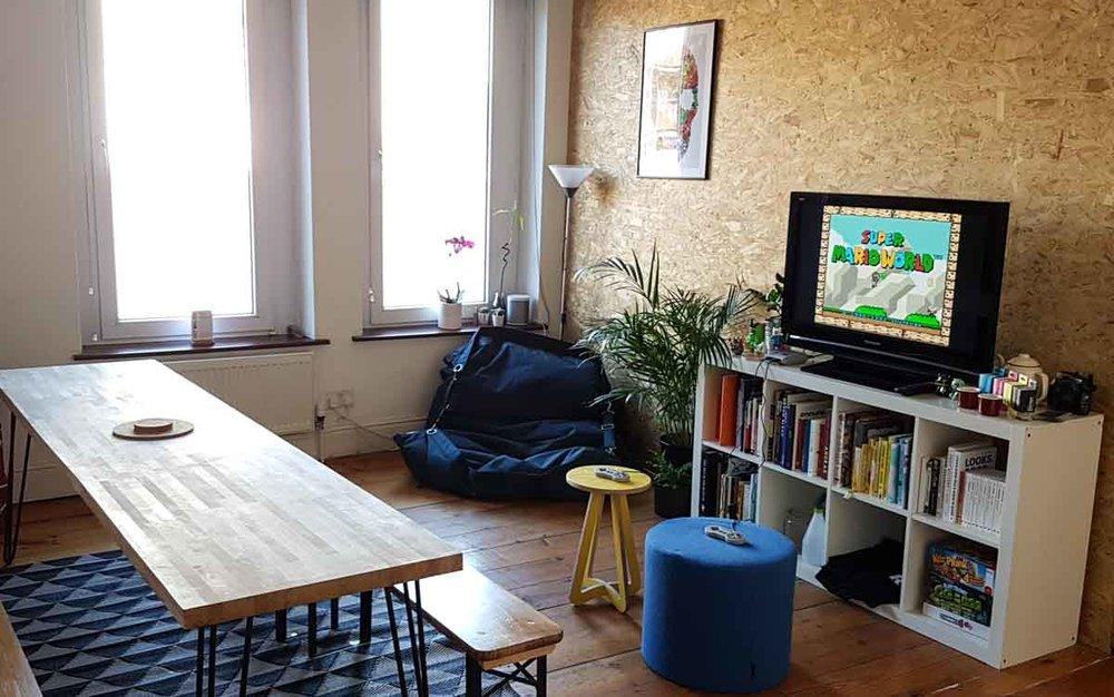 Lounge area at Rabble Studio