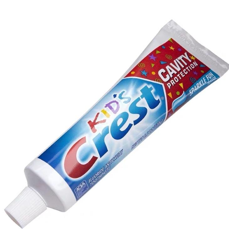 Children's toothpaste with flouride