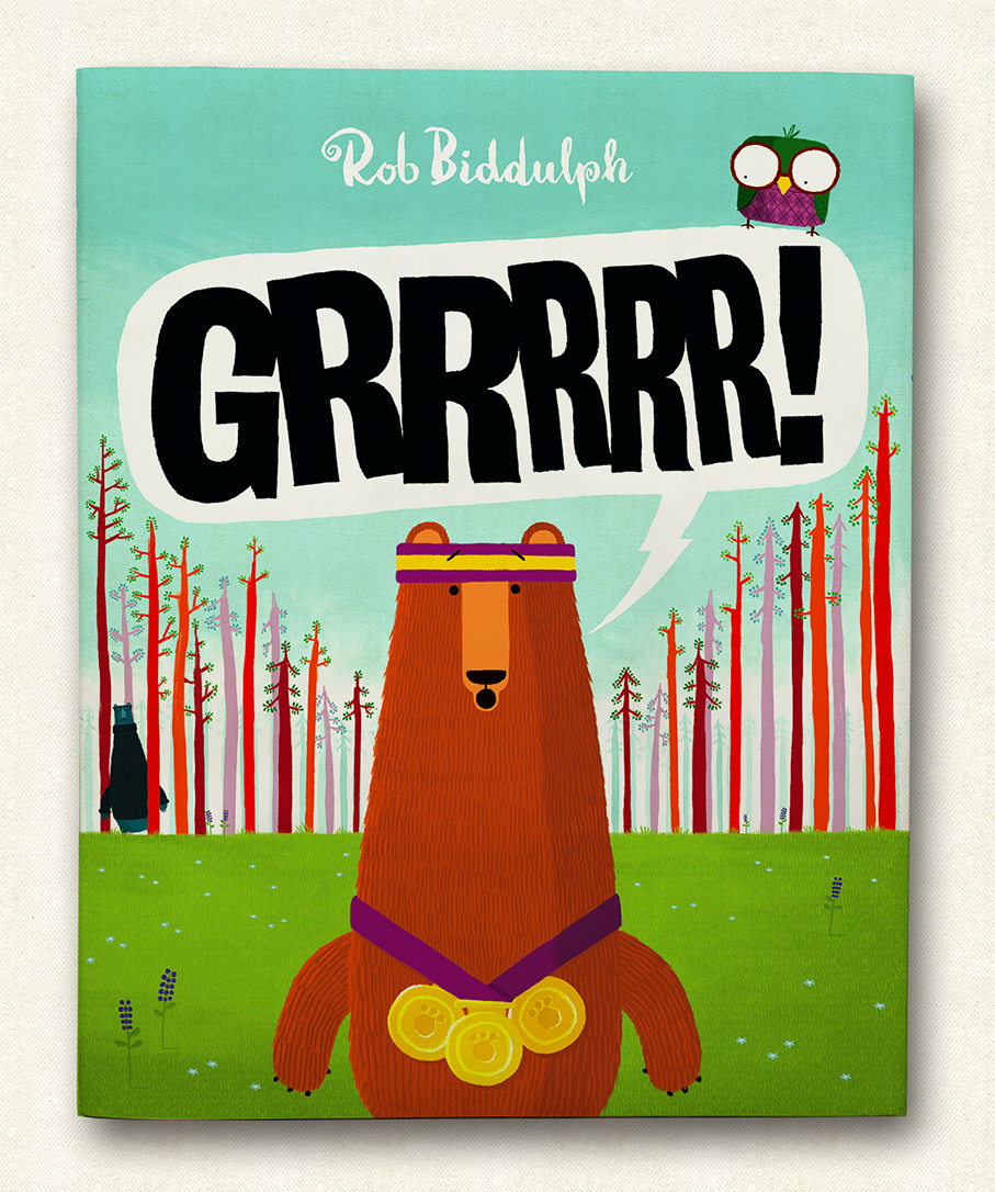"*tiny drum roll* Ladies and gentleman, I can finally reveal the cover of my second book. It's called ""GRRRRR!"" (With five 'R's). I hope you like it."
