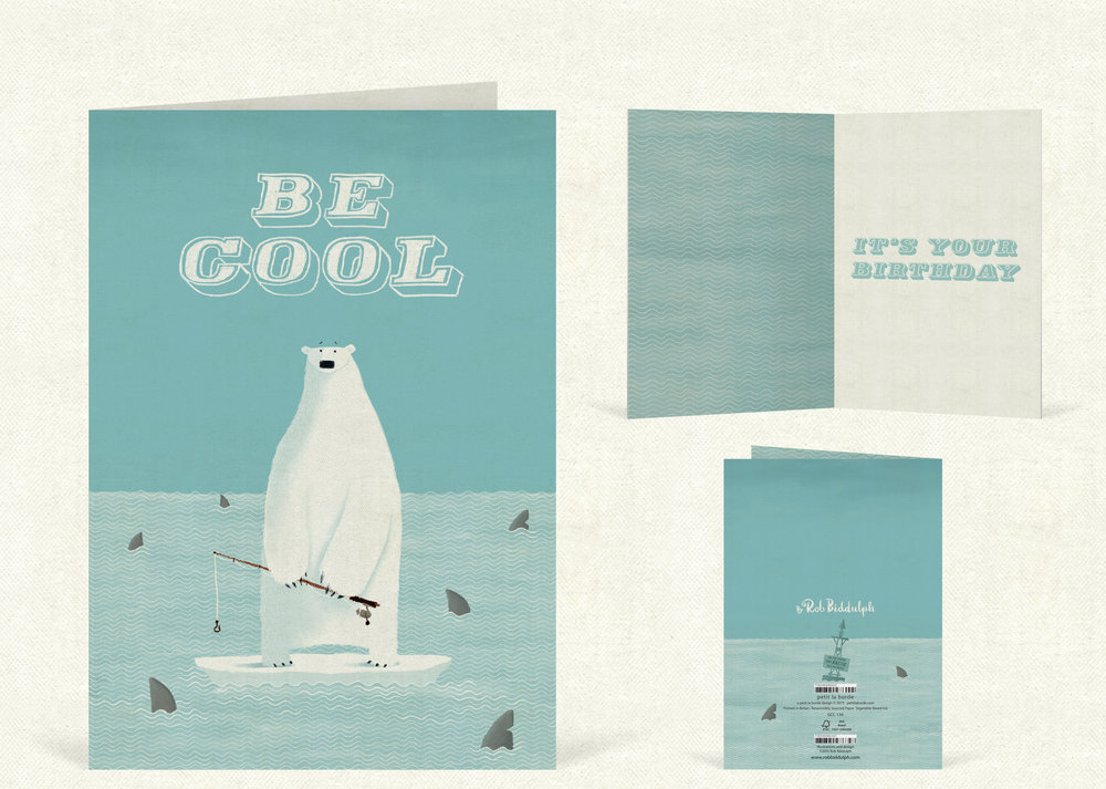 Be Cool  (120mm x 170mm).   Click   here   to buy.