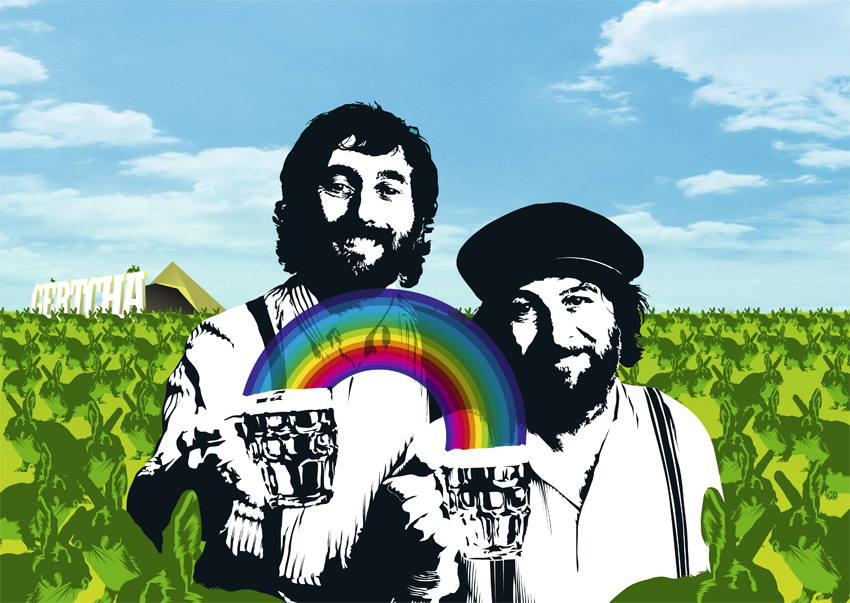 Chas & Dave at Glastonbury