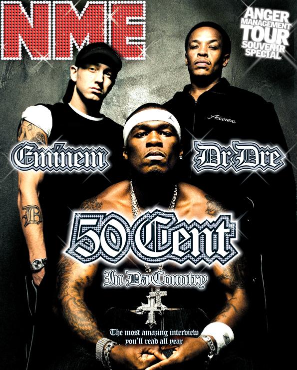 Eminem, Dr Dre & 50 Cent cover