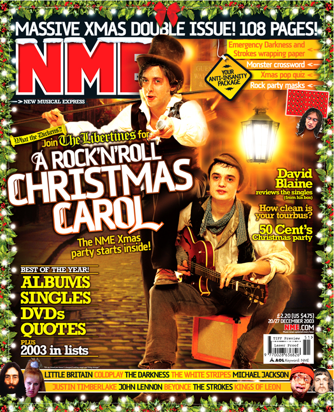 Libertines Christmas cover