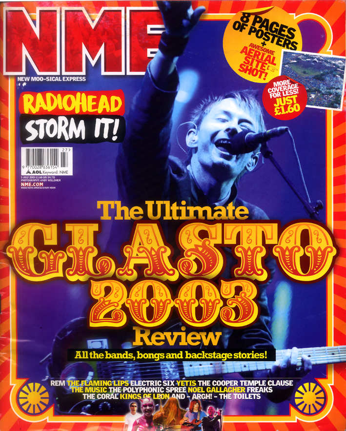 Glastonbury 2003 cover
