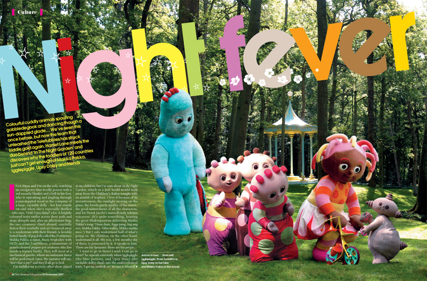 In The Night Garden feature
