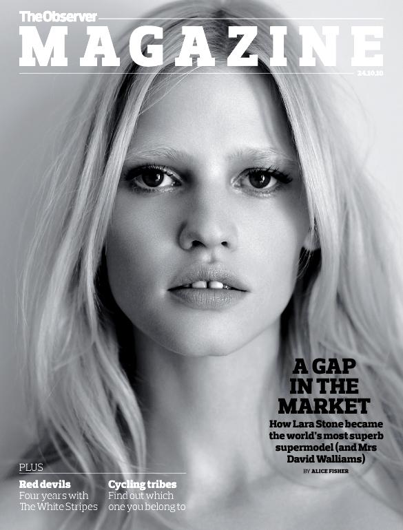 Lara Stone cover