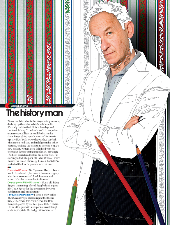 Simon Schama feature