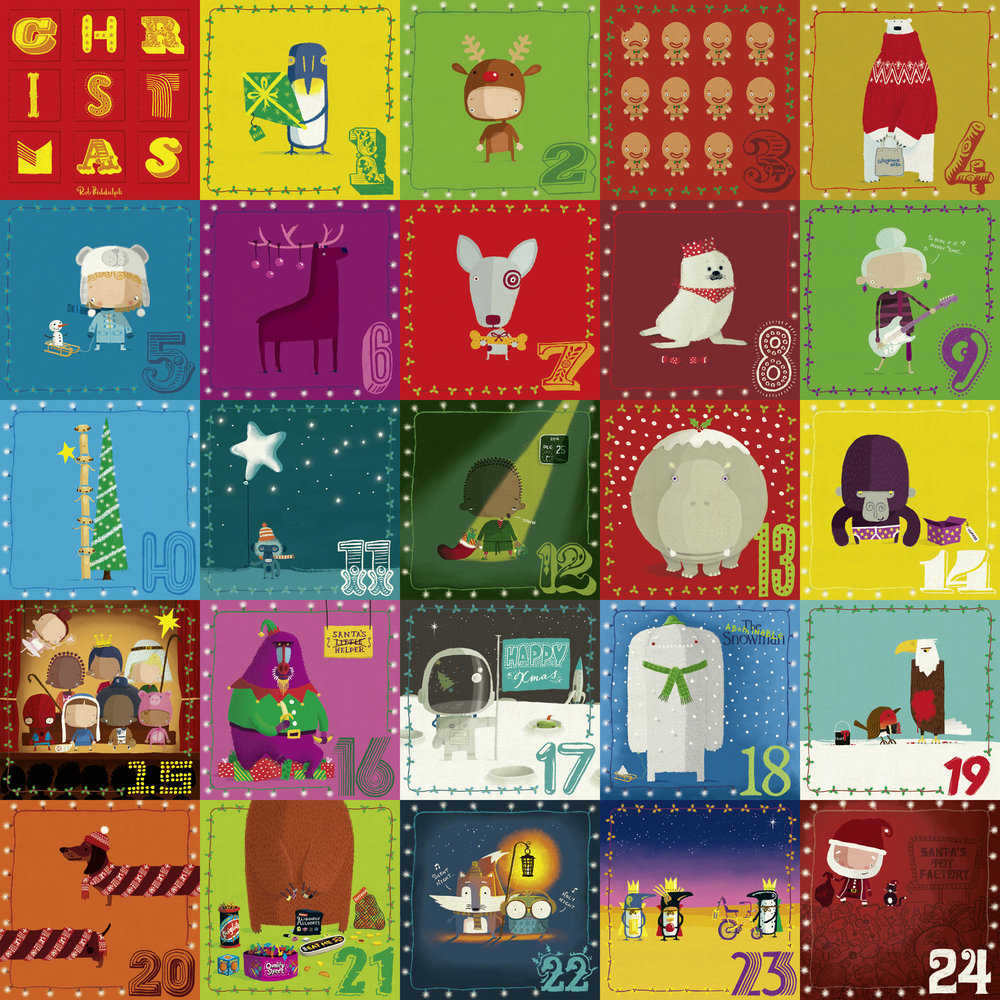 Advent illustrations 2014