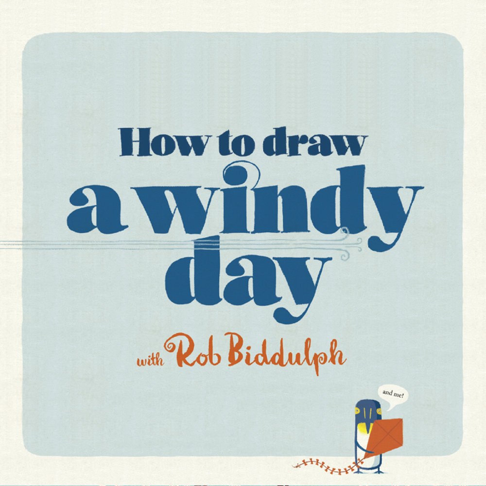 How to draw a windy day