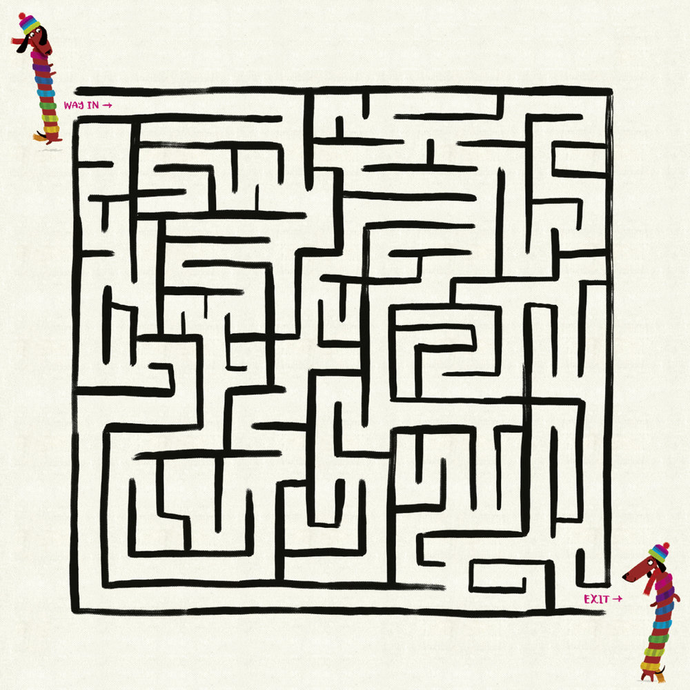 Odd Dog's maze