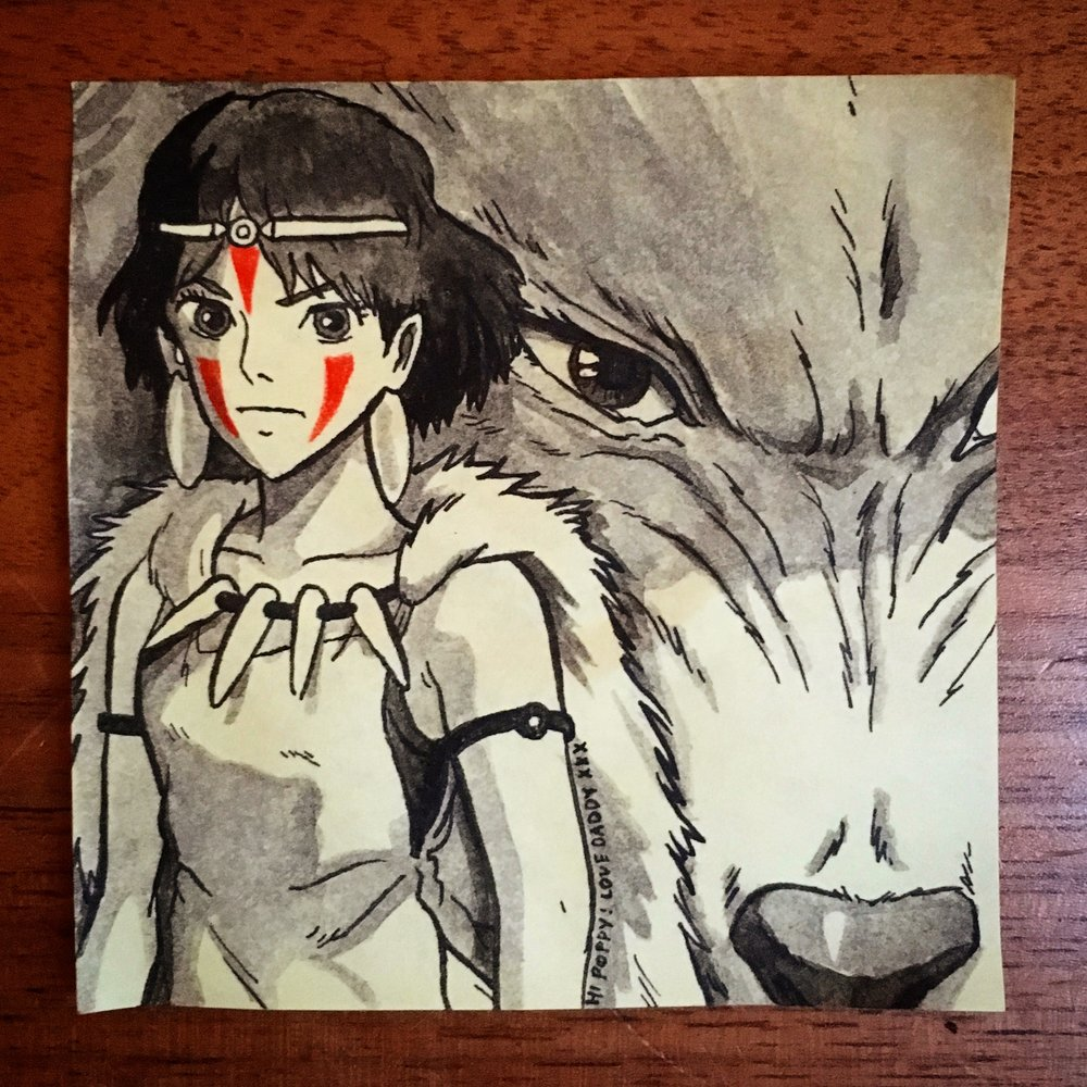 Princess Mononoke (and Moro)