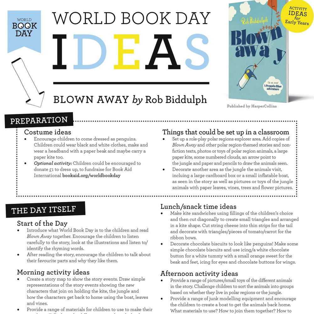 World Book Day ideas
