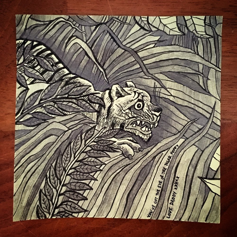 Tiger in a Tropical Storm