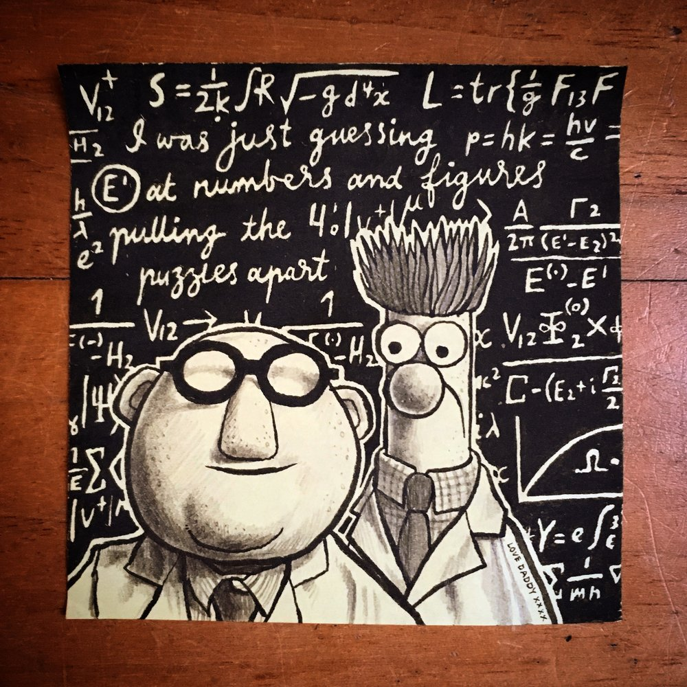 Dr Bunsen and Beaker