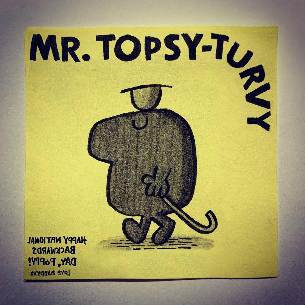 Mr Topsy-Turvy