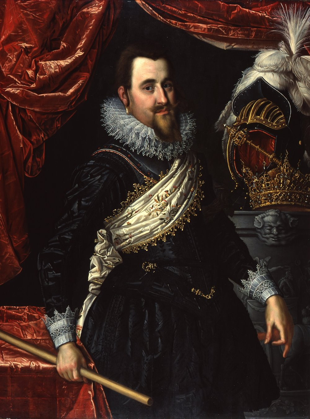 Christian IV, Pieter Isaacx c.1613