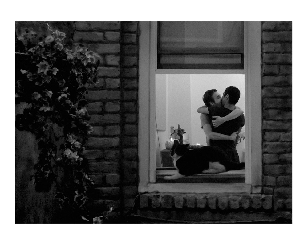 The Kiss, Lower East Side NYC, Sunday 11.37pm