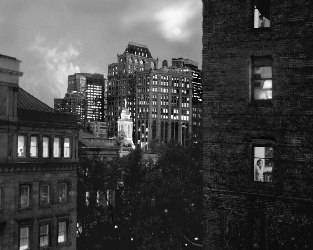 Full Moon, City Hall NYC, Friday 10.53pm