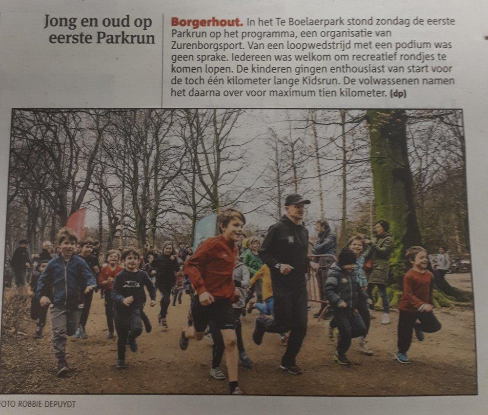 artikel Gazet Van Antwerpen 29/01/2018