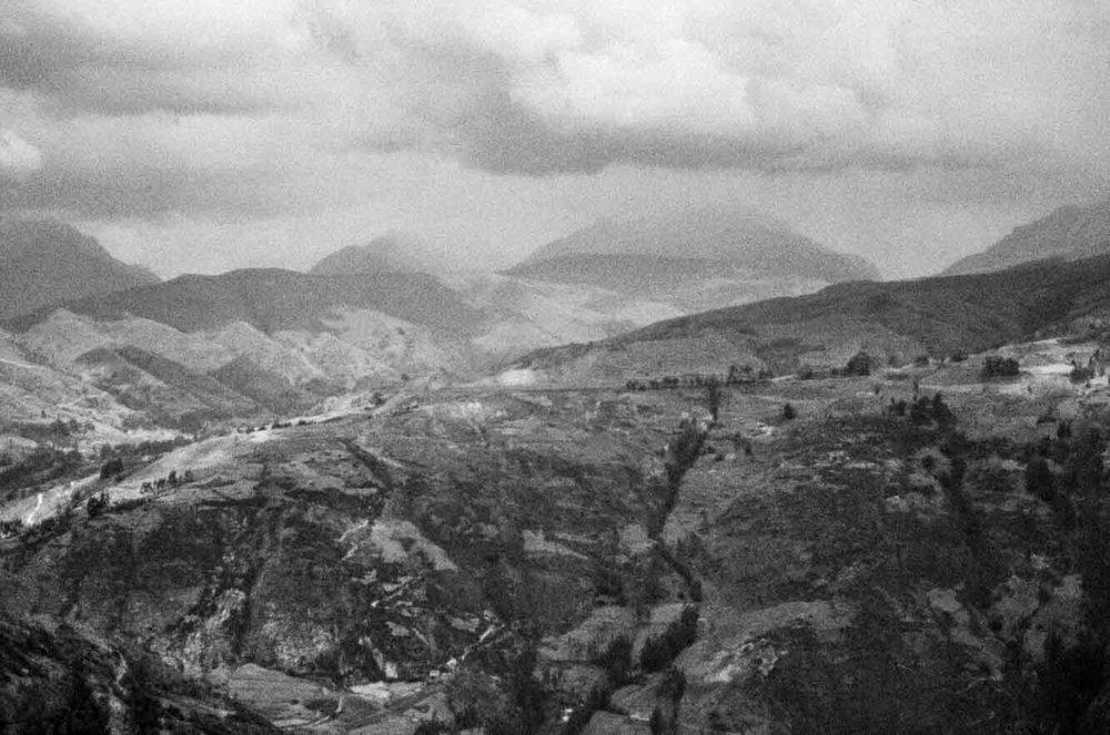 The Cordillera Blanca, Peru 2016
