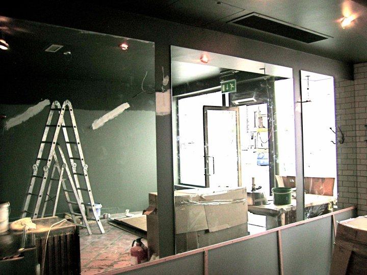 Dillinger's Interior Before