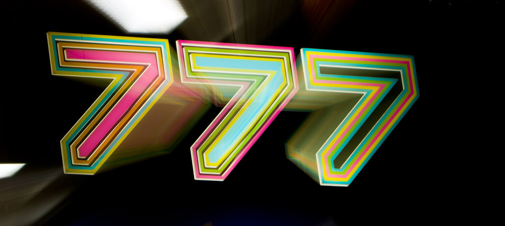 777 Sign