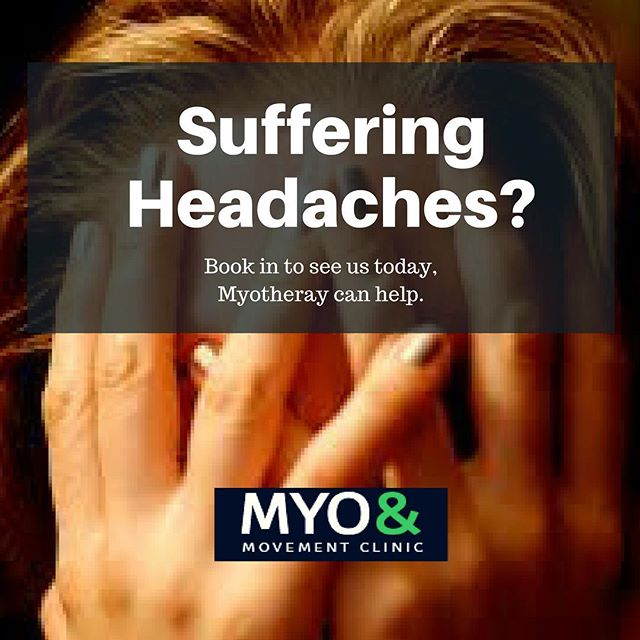 #myotherapycamberwell #myotherapyandmovementclinic #headaches #cerviogenicheadache #tensionheadache