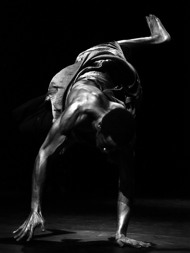 The award winning photo of dancer Carl Refos for Samadhi Dance Company