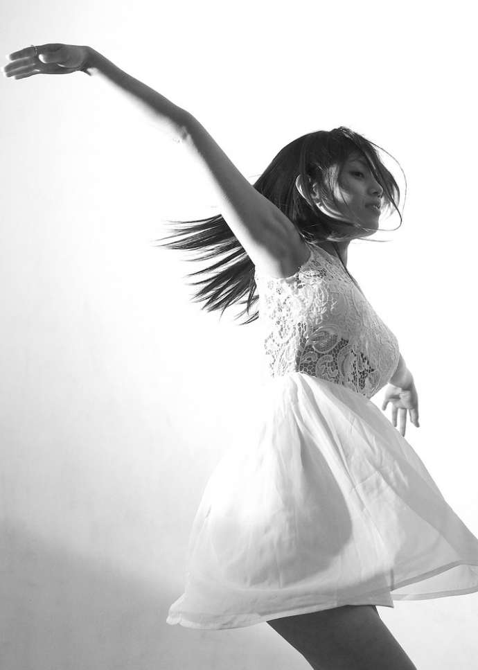 Portrait01/Asuka, the very first portrait of the series 99DANCERS