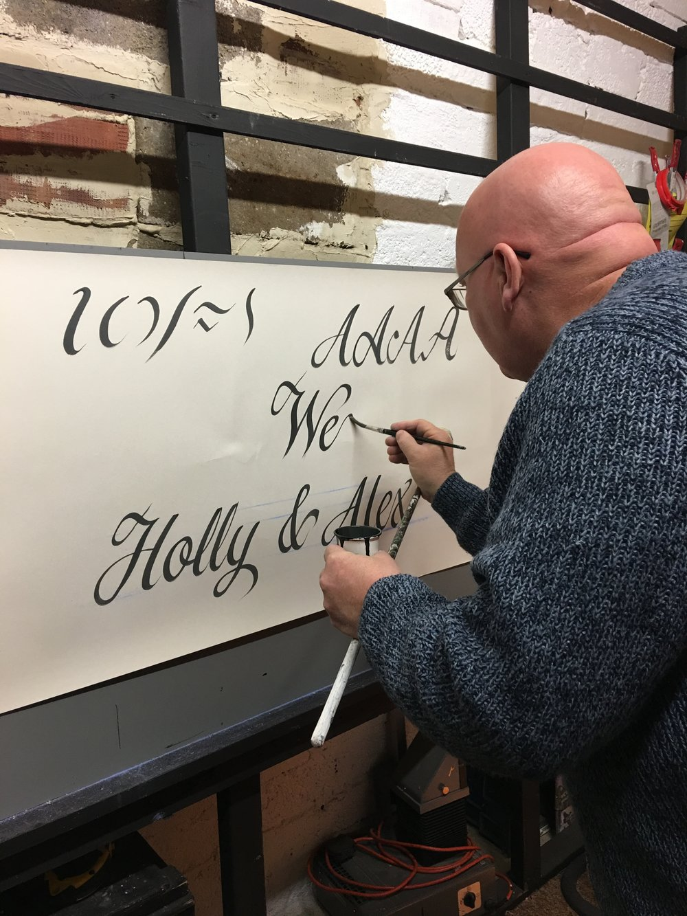 Wayne Tanswell Signwriter