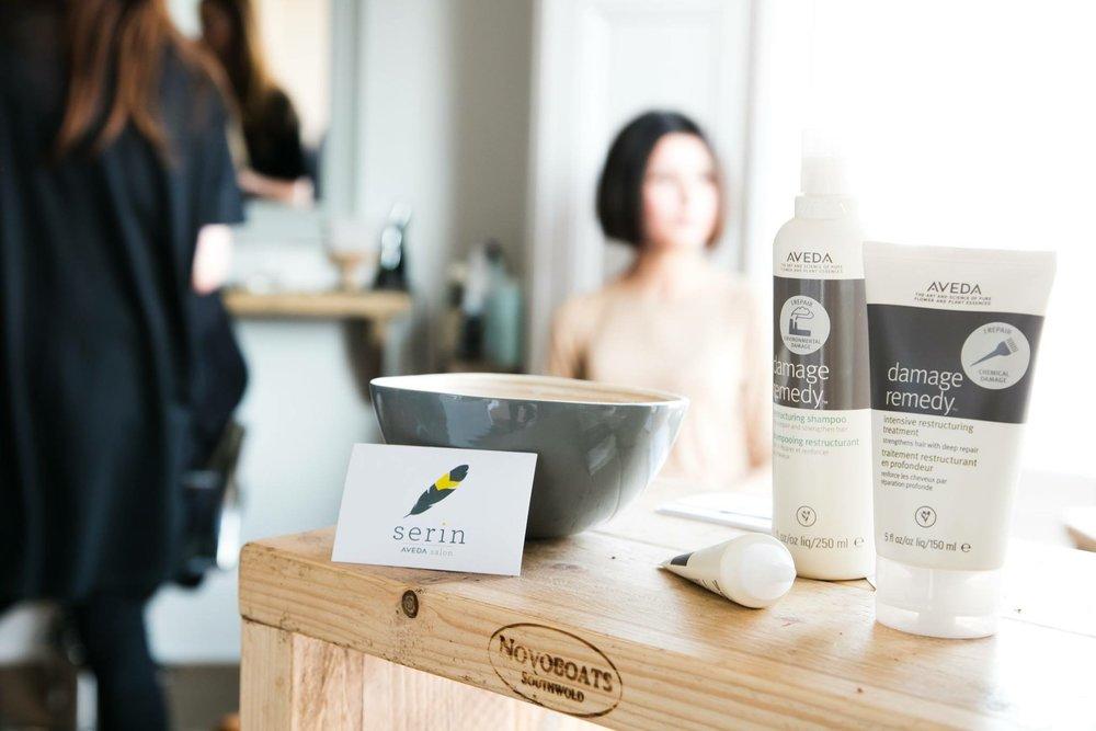 Client: Serin Aveda Salon