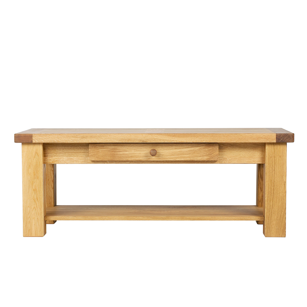 Bretagne Coffee Table With Drawer