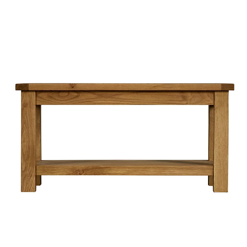 Xandra Coffee Table With Shelf
