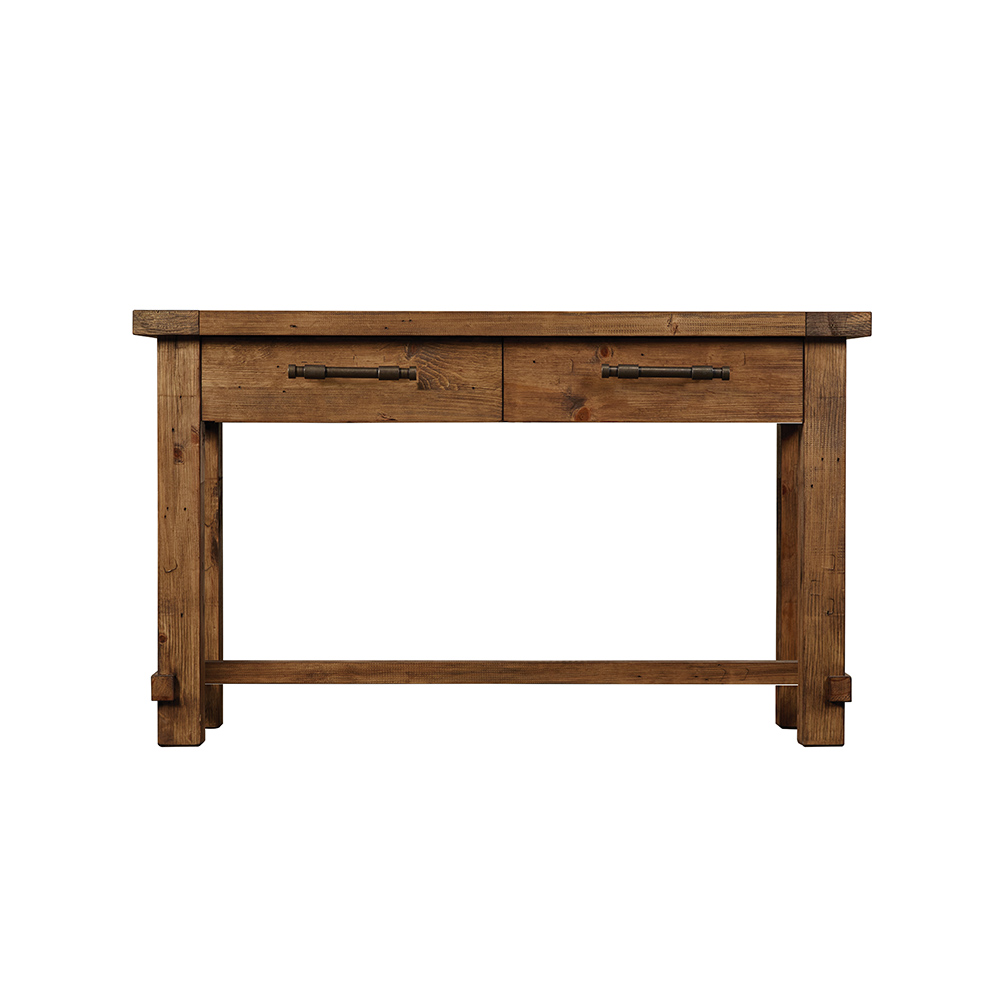Industrial Small Console Table