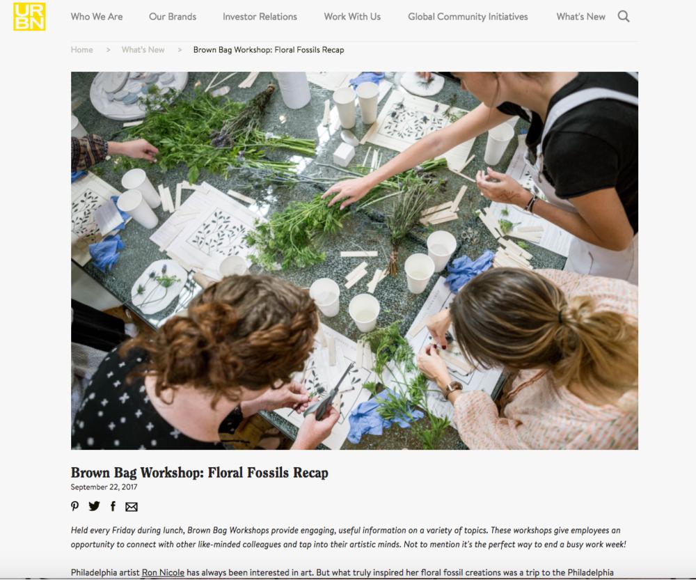 Ron Nicole Brown Bag Workshop Floral Fossils Recap Workshop.png
