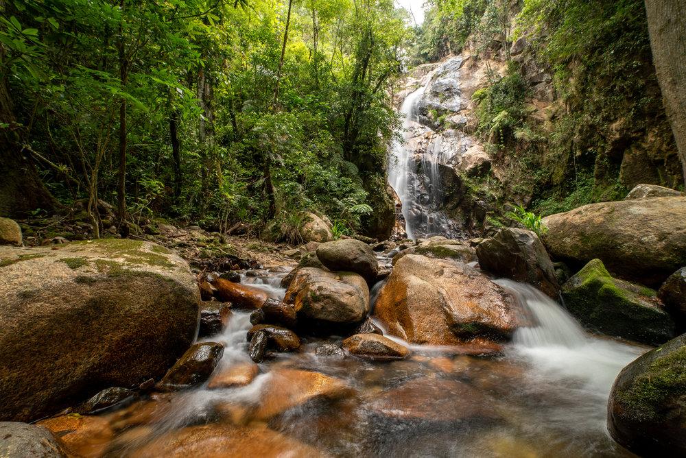 Quetzal Waterfall, Cusuco