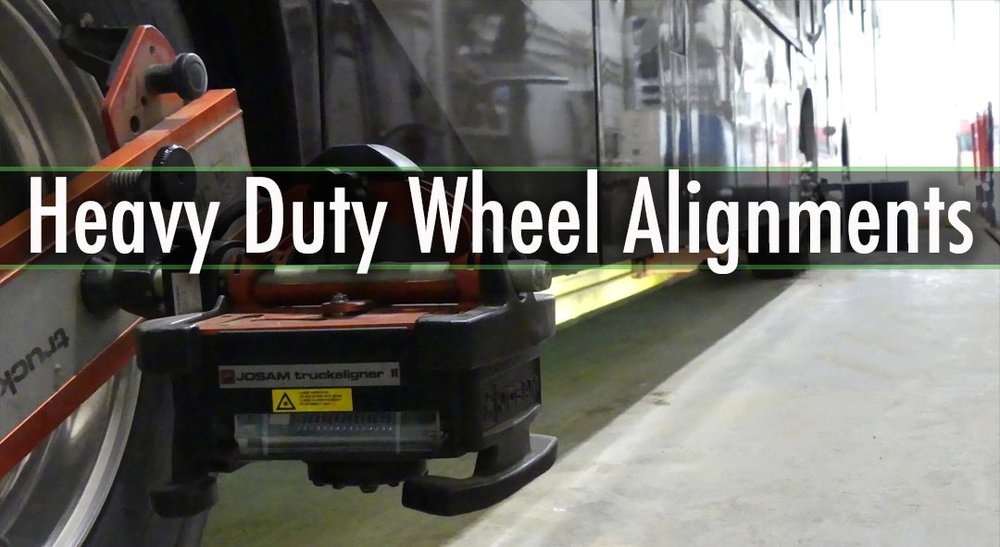 WHEEL ALIGNMENTS Steer and Drive Axle Alignments Trailer and Multi-Axle Alignments Axle Straightening