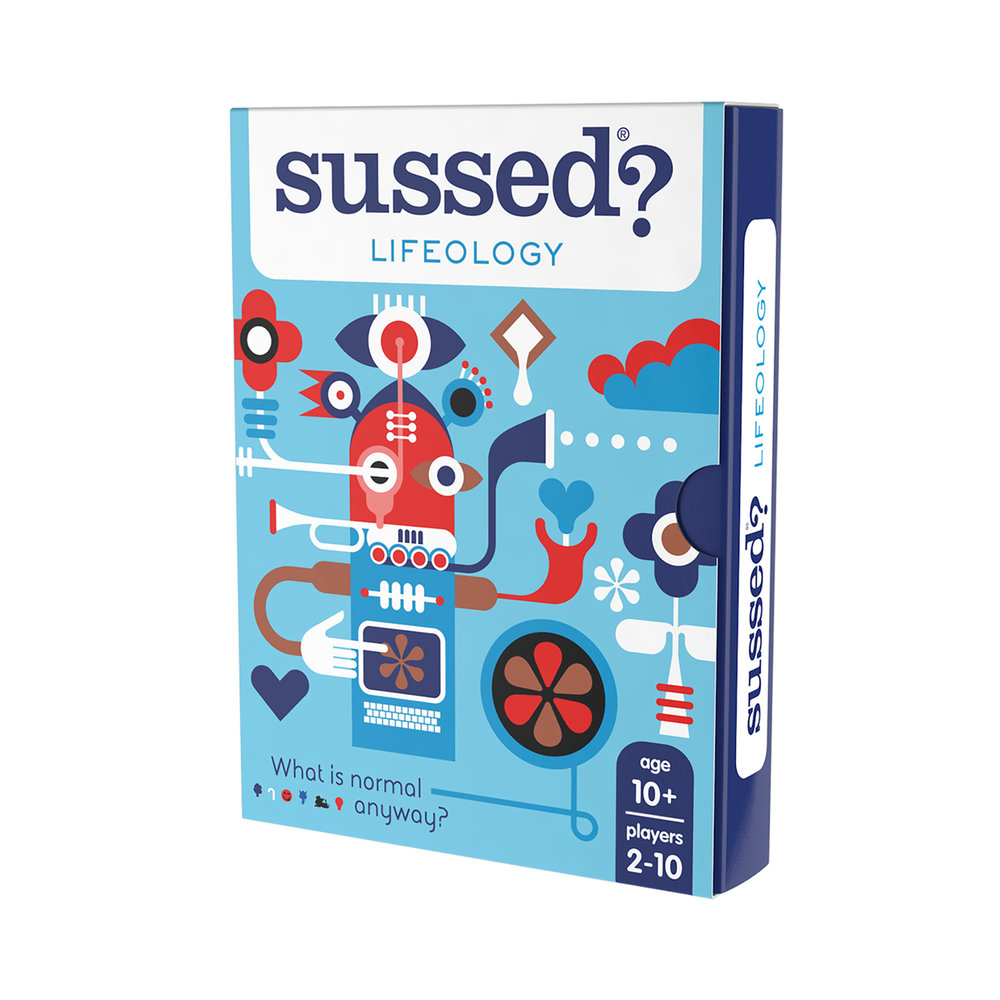 """""""We laughed so much playing this""""; """"it's perfect for constantly suggesting new conversation topics that you wouldn't normally think of!""""; """"Fantastic game, really gets a family debate going"""" (Amazon reviewers 2017-18)"""