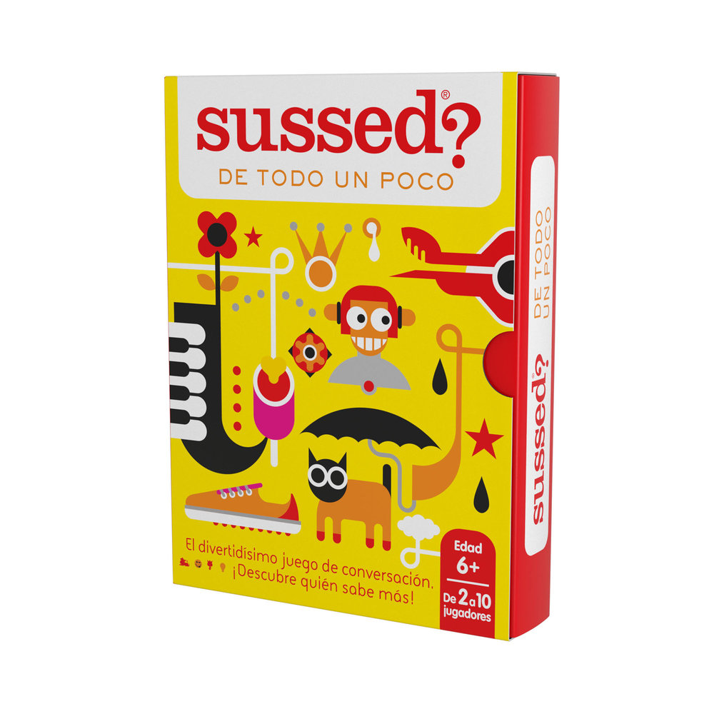 new for 2018 - 'all sorts' in spanish!