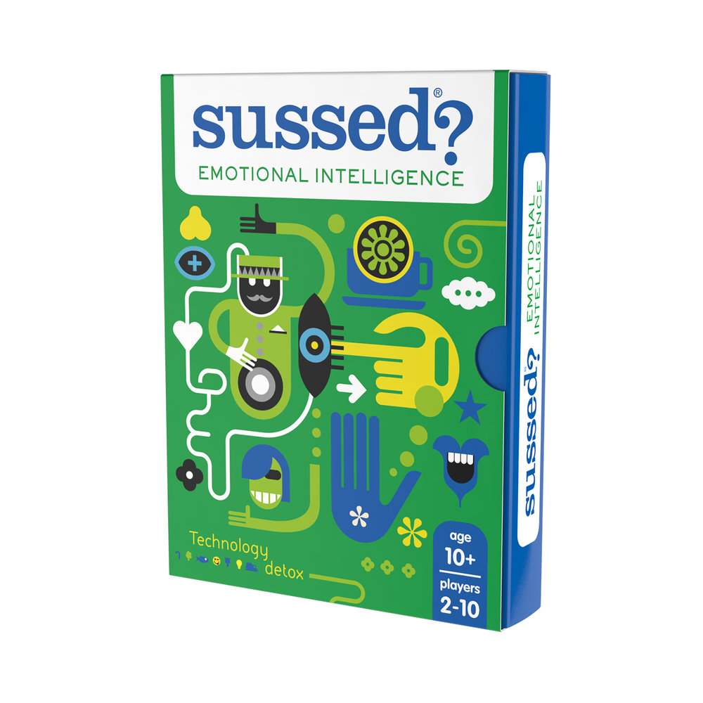 """""""Excellent game for starting engaged conversations with screen attached teens""""; """"Great fun way to get your kids talking about their thoughts and feelings""""; """"brilliant and simple"""" (amazon reviewers 2017-18)"""