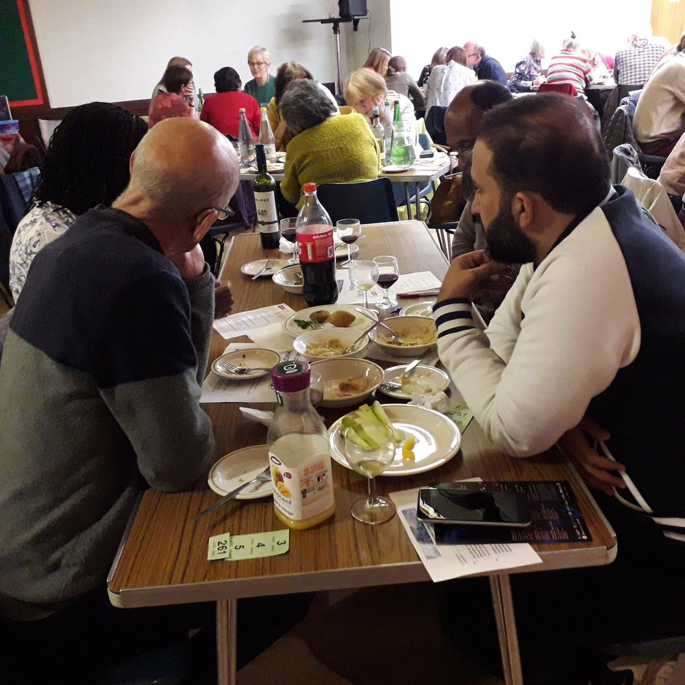 """Herts Welcomes Syrian Families - One of the participants at the HWSF Sussed Quiz Night summed up the mood perfectly """"It was such fun. I haven't laughed so much in years."""""""