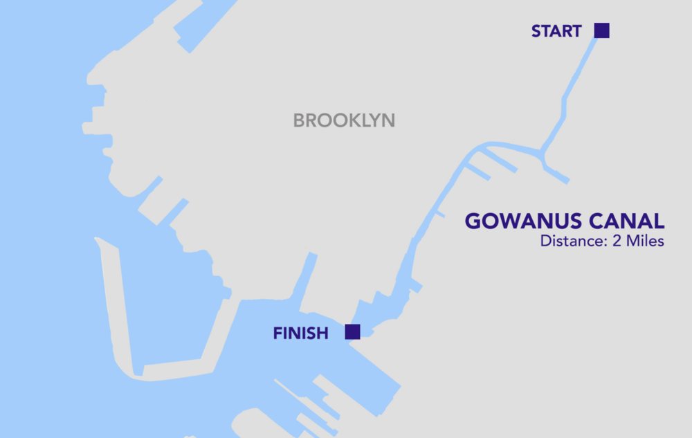 "The Gowanus Canal in Brooklyn, New York, has been named ""one of the most contaminated places in America"", poisoned with industrial pollutants and pumped full of raw sewage. The canal was also declared a Superfund site in 2010 and a clean up has just commenced in mid-October 2017."