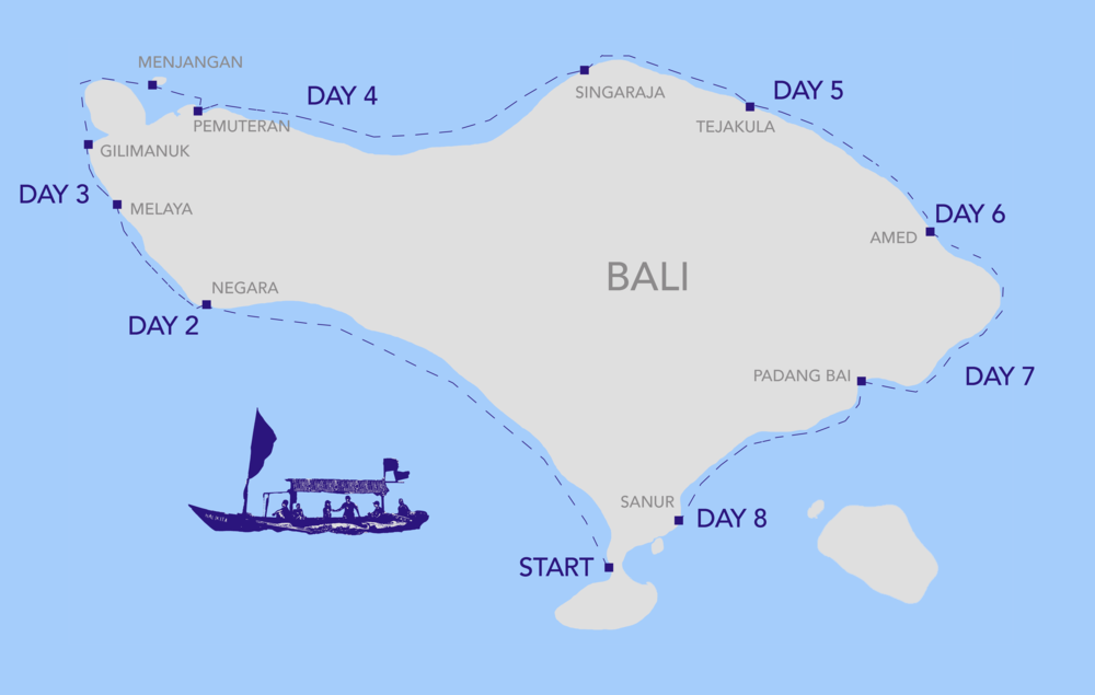 KelilingBALI map