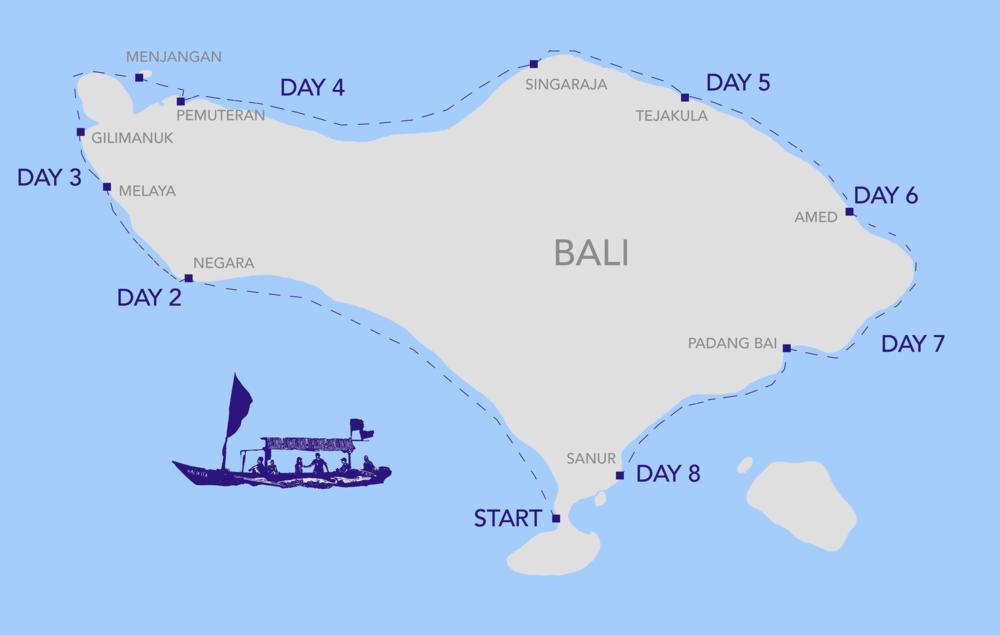 KelilingBALI map